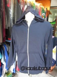 Ready jaket polos warna biru dongker