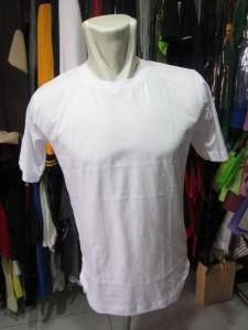 kaos polos combed 30s warna putih