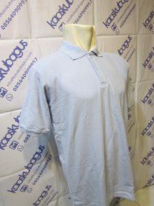 polo shirt lacoste cvc biru soft muda