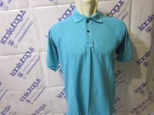 polo shirt lacoste cvc biru turkis