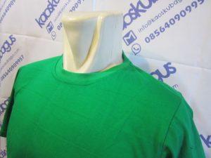 kaos polos combed hijau