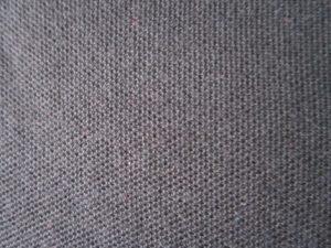 detail bahan lacost cvc warna misty tua