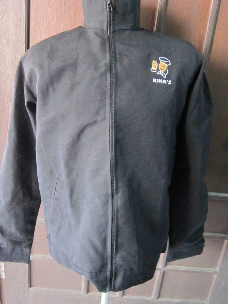 jaket kanvas hitam