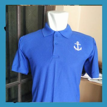 #287 Ingin Buat Bordir Polo Shirt Lacoste CVC? Mampir Saja Ke Kaoskubagus!